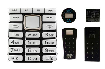 Keypad-PMMA/PC Panel